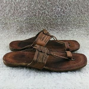 9e7157f4e66e4 Funky People Shoes - Funky People Jesus Sandals Leather Handmade Size 9